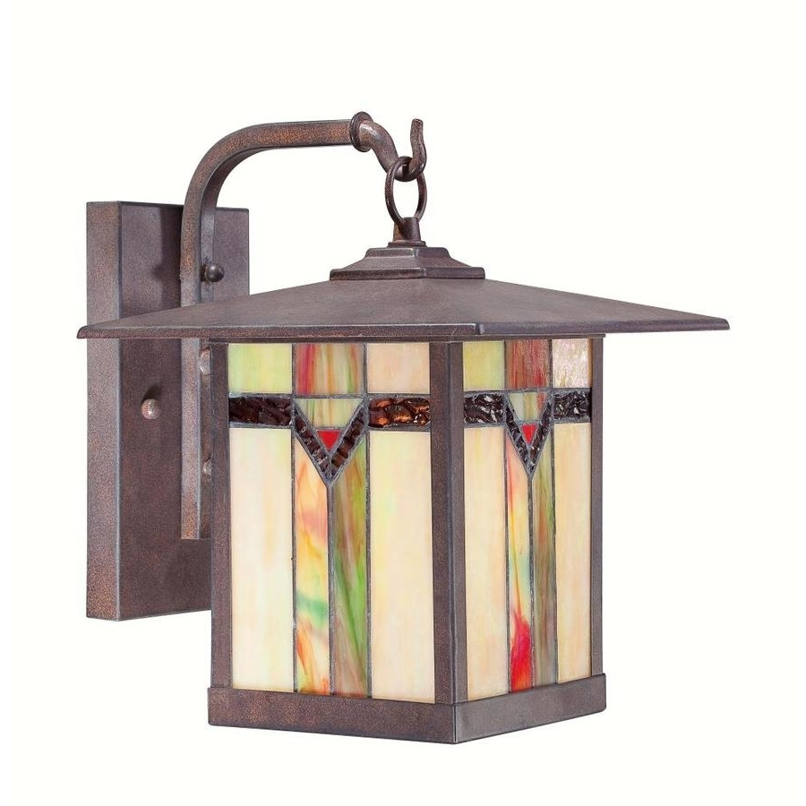 Antique Outdoor Lanterns Within Well Liked Shop Outdoor Wall Lights At Lowes (View 4 of 20)