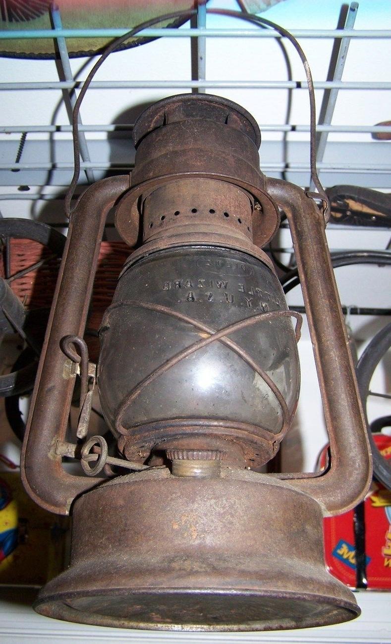 Antique Railroad Lantern $ (View 2 of 20)