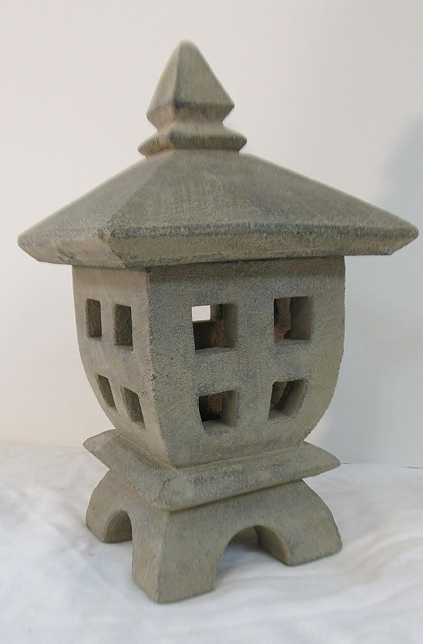Asian Sculpture: Outdoor Living Areas (View 20 of 20)
