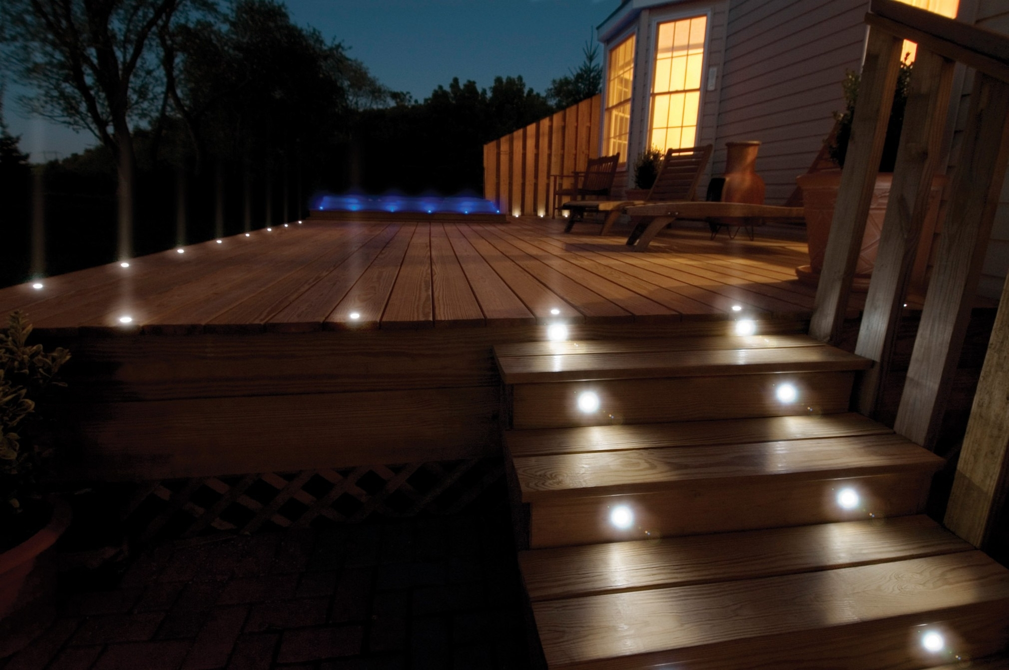 Backyard Deck Lighting Ideas – Patio Design And Yard Within Recent Outdoor Deck Lanterns (View 1 of 20)