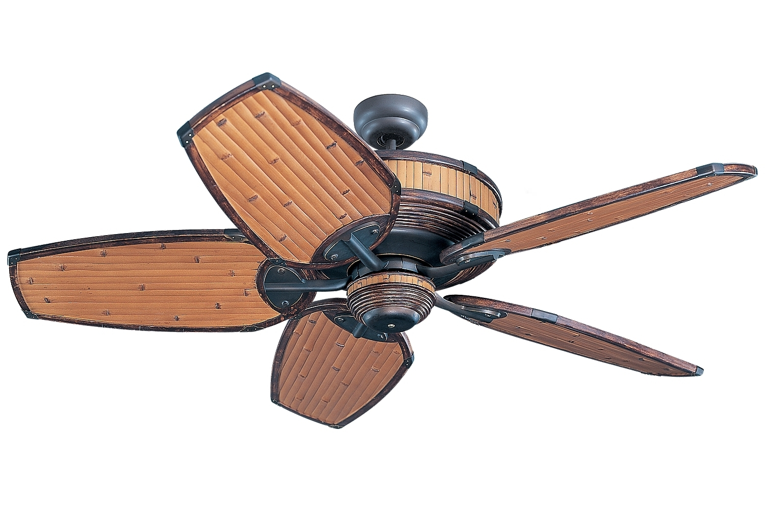 Bamboo Outdoor Ceiling Fans With Regard To Favorite Ceiling Fanthe Monte Carlo Fan Company (View 4 of 20)