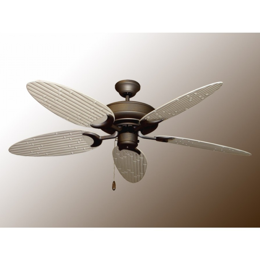 Bamboo Raindance, Outdoor Ceiling Fan With Regard To 2019 Outdoor Ceiling Fans With Bamboo Blades (View 4 of 20)
