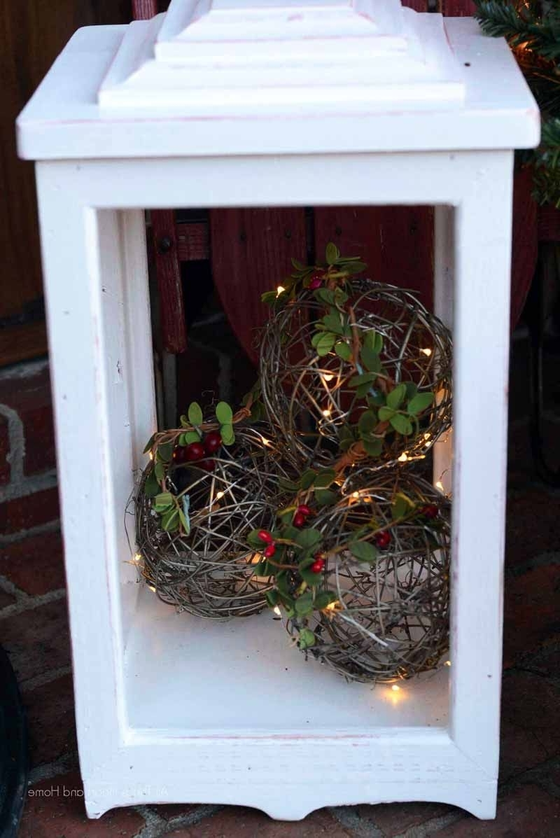 Behr, Giveaway And With Diy Outdoor Lanterns (View 10 of 20)