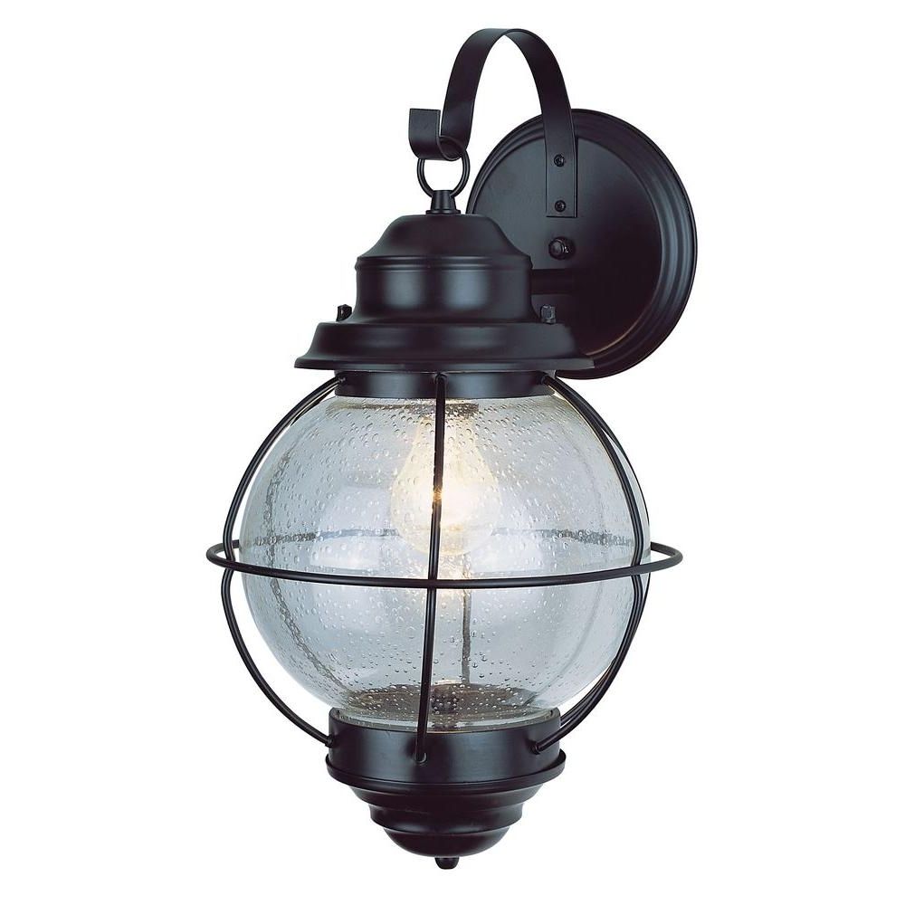 Bel Air Lighting Lighthouse 1 Light Outdoor Rustic Bronze Coach For Trendy Outdoor Nautical Lanterns (View 2 of 20)