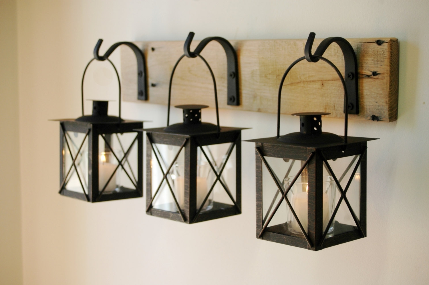 Benefit Of Wrought Iron Wall Decor — Charter Home Ideas Regarding Well Known Etsy Outdoor Lanterns (View 2 of 20)