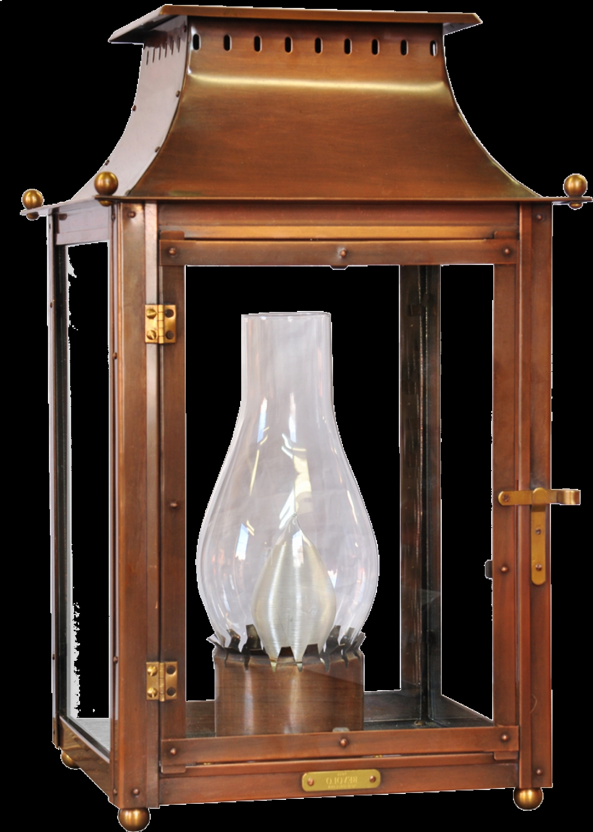 Best And Newest Copper Outdoor Electric Lanterns Pertaining To Outdoor Electric Lantern Lights – Outdoor Lighting Ideas (View 9 of 20)