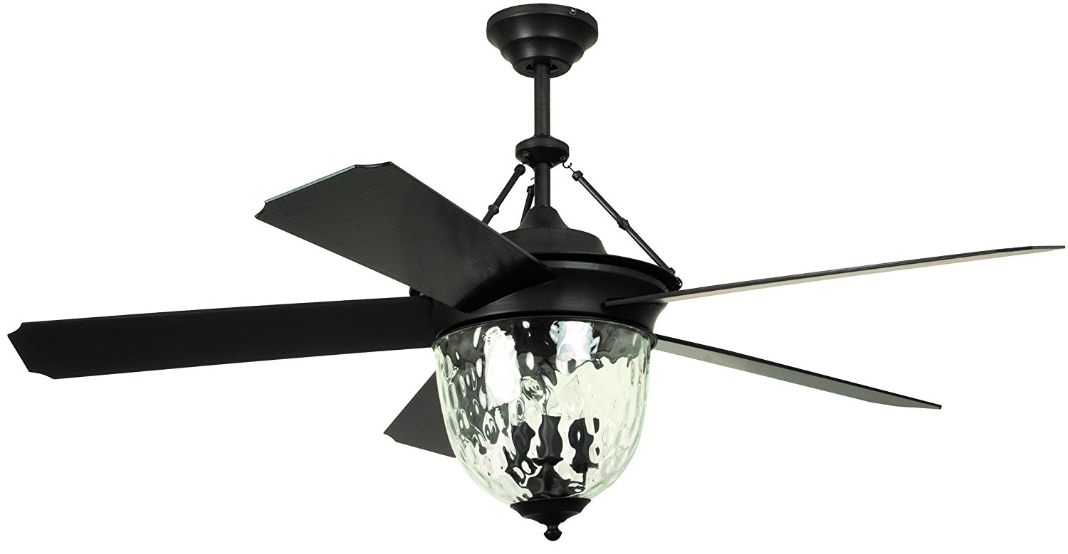 Best And Newest Elegant Outdoor Ceiling Fans Within Ceiling Fan: Elegant Black Ceiling Fan With Remote Ideas Ceiling (Gallery 19 of 20)