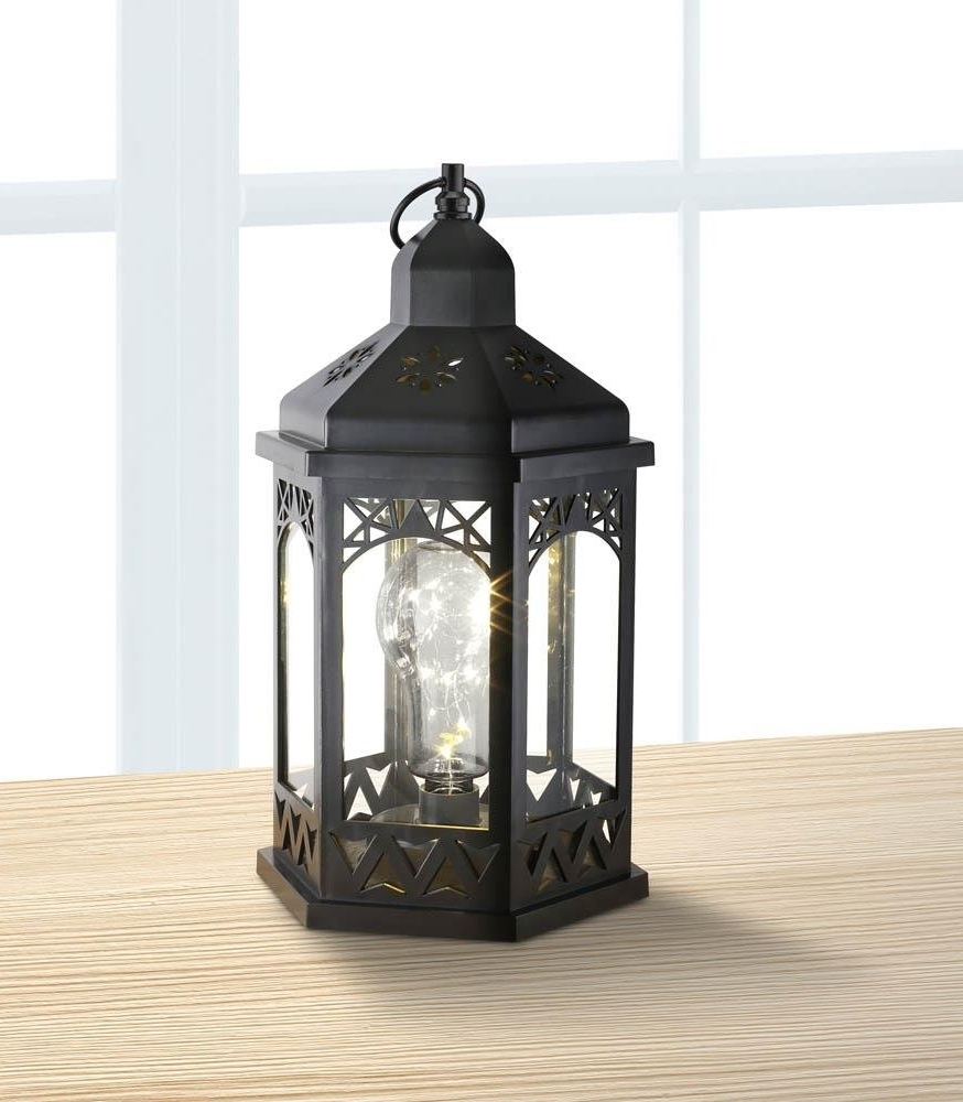 Best And Newest Italian Outdoor Lanterns Intended For Lanterns Outdoor, Light Bulb Shimmer Hanging Metal Decorative (View 10 of 20)