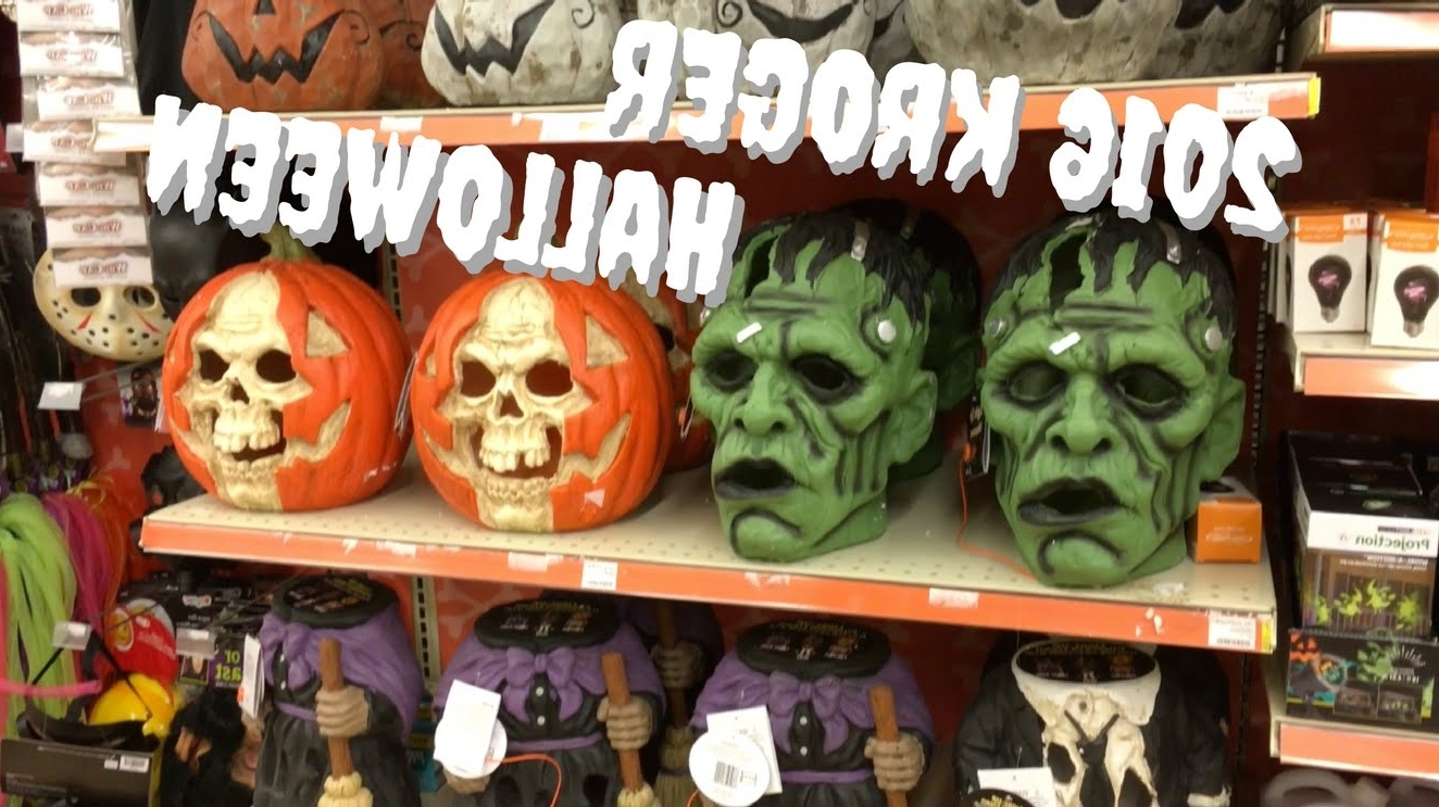 Best And Newest Kroger Outdoor Lanterns Pertaining To Kroger's 2016 Halloween Items – Youtube (View 1 of 20)