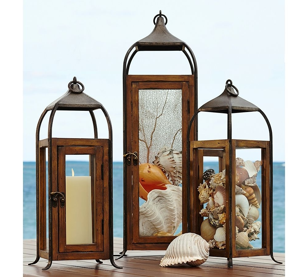 Best And Newest Large Outdoor Decorative Lanterns Intended For The Glow Of Summer: How To Decorate With Lanterns (Gallery 15 of 20)
