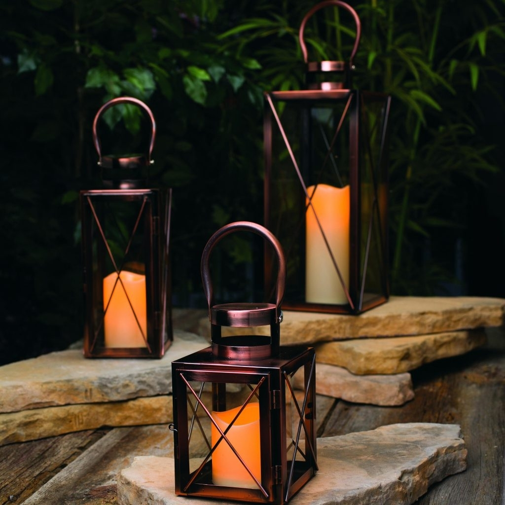 Best And Newest Outdoor Big Lanterns Intended For Candles ~ Giant Candle Lantern Decorative Lanterns Outdoor Candles (Gallery 8 of 20)