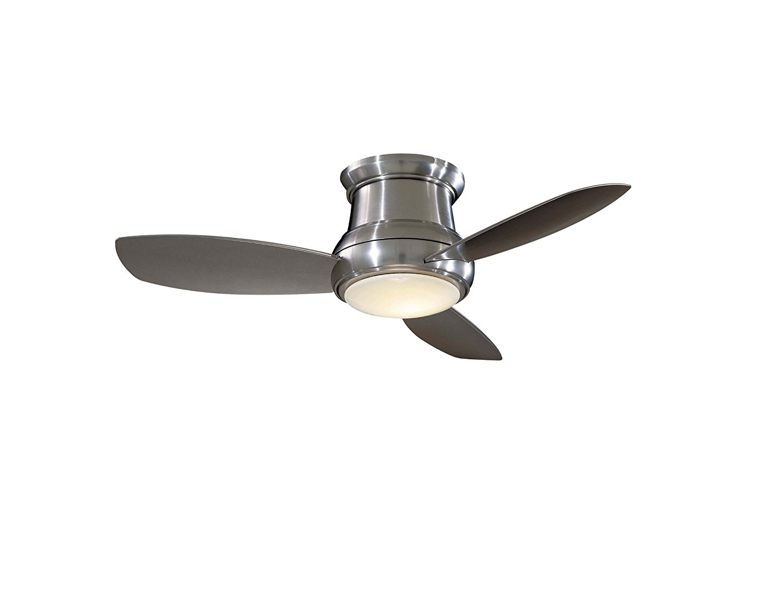 Best And Newest Outdoor Ceiling Fans For 7 Foot Ceilings Throughout Ceiling Fan: Captivating Flush Mount Ceiling Fan With Light Ideas (View 8 of 20)