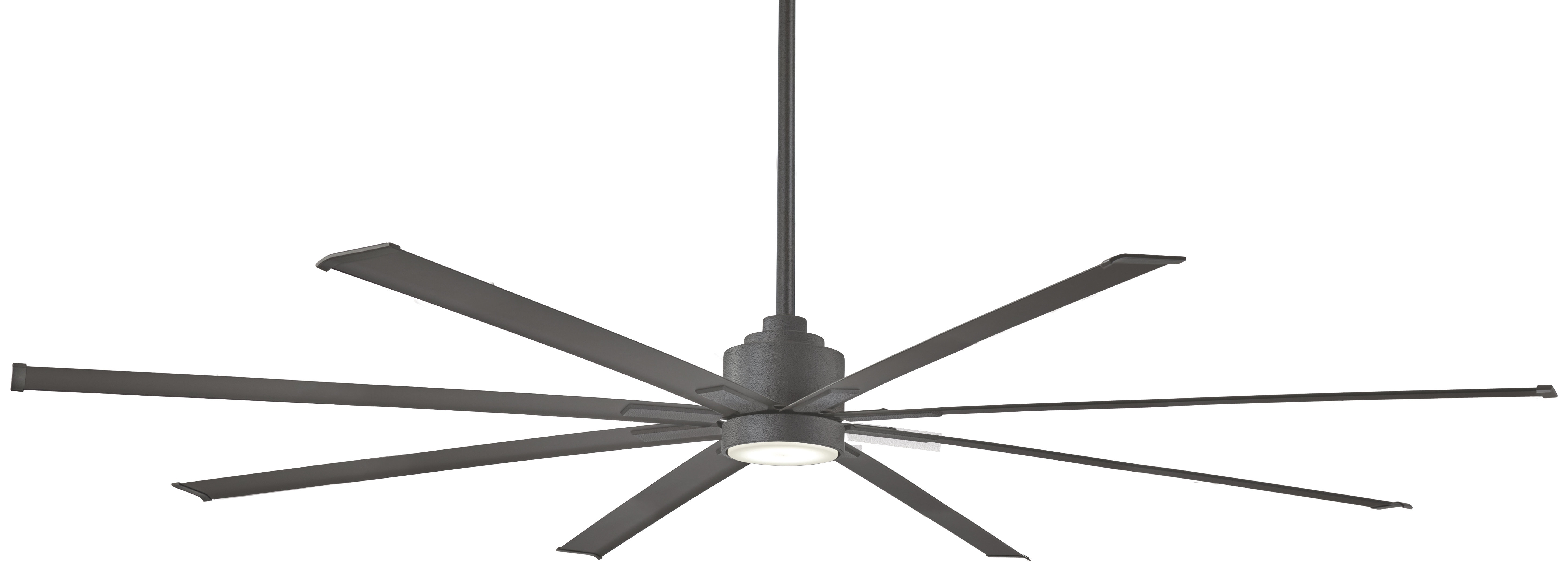 "Best And Newest Outdoor Ceiling Fans With Remote And Light With Minka Aire 84"" Xtreme 8 Outdoor Ceiling Fan With Remote & Reviews (View 3 of 20)"