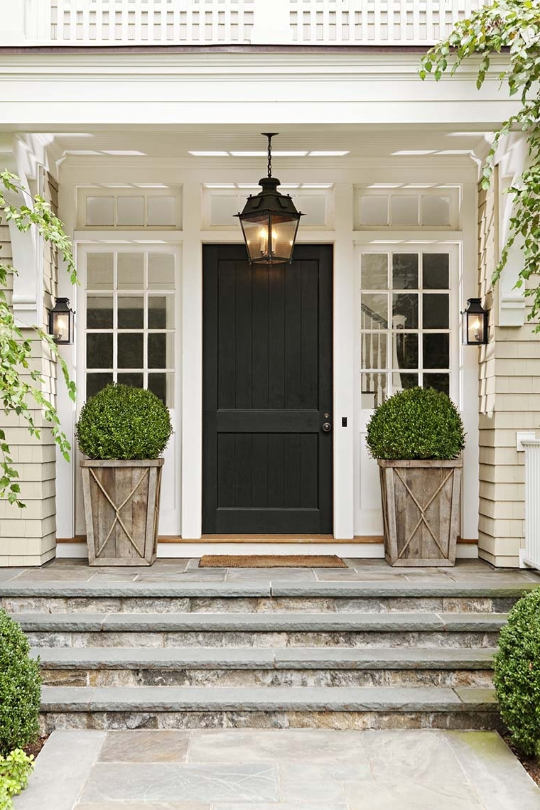 Best And Newest Outdoor Door Lanterns In Front Door Lighting Tips – Kristywicks (Gallery 1 of 20)