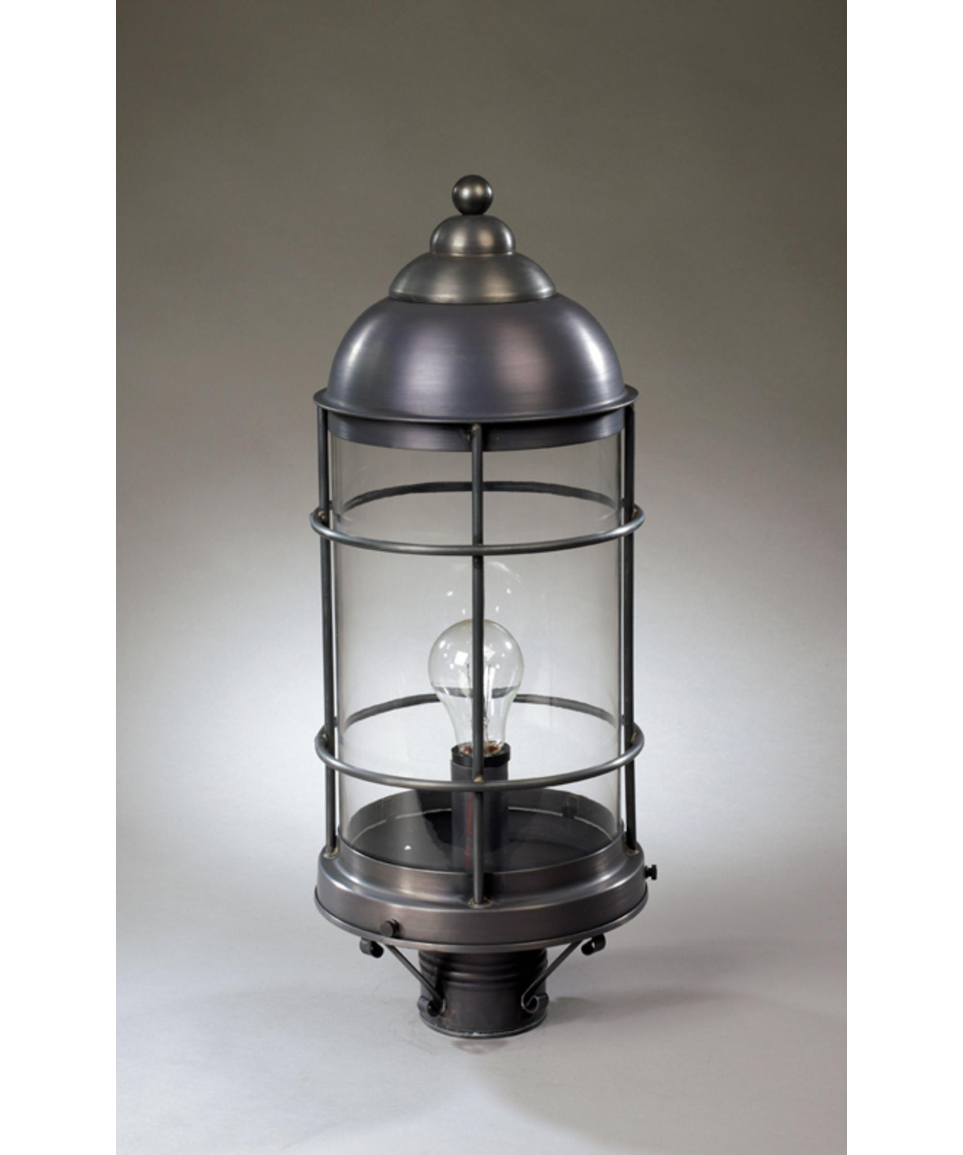 Best And Newest Outdoor Lanterns On Post Regarding Northeast Lantern 3533 Med Nautical 8 Inch Wide 1 Light Outdoor Post (View 5 of 20)
