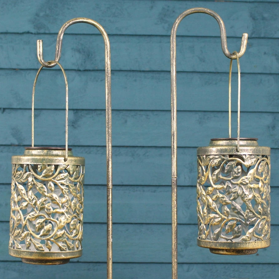 Best And Newest Outdoor Lanterns On Stands Throughout Garden Lights And Lanterns (View 18 of 20)
