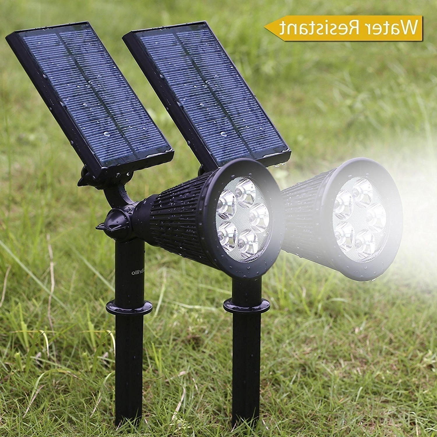 Best And Newest Outdoor Lights Amazon Best Of Albrillo 5 Led Solar Powered Spotlight For Outdoor Lanterns At Amazon (Gallery 5 of 20)