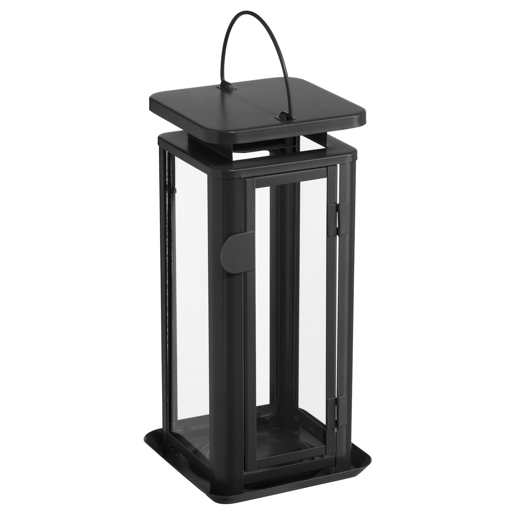 Black Outdoor Lanterns Pertaining To Preferred Lanterns & Candle Lanterns – Ikea (View 8 of 20)