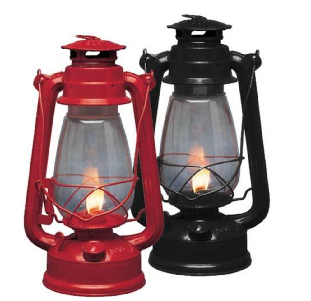 Brand New Weatherrite Oil Lantern Red Or Black Kerosene Outdoor Intended For Well Known Outdoor Kerosene Lanterns (Gallery 20 of 20)