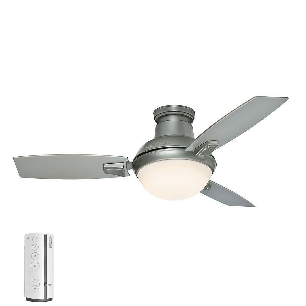 Brushed Nickel Outdoor Ceiling Fans With Light Within Most Current Casablanca Verse 44 In (View 9 of 20)