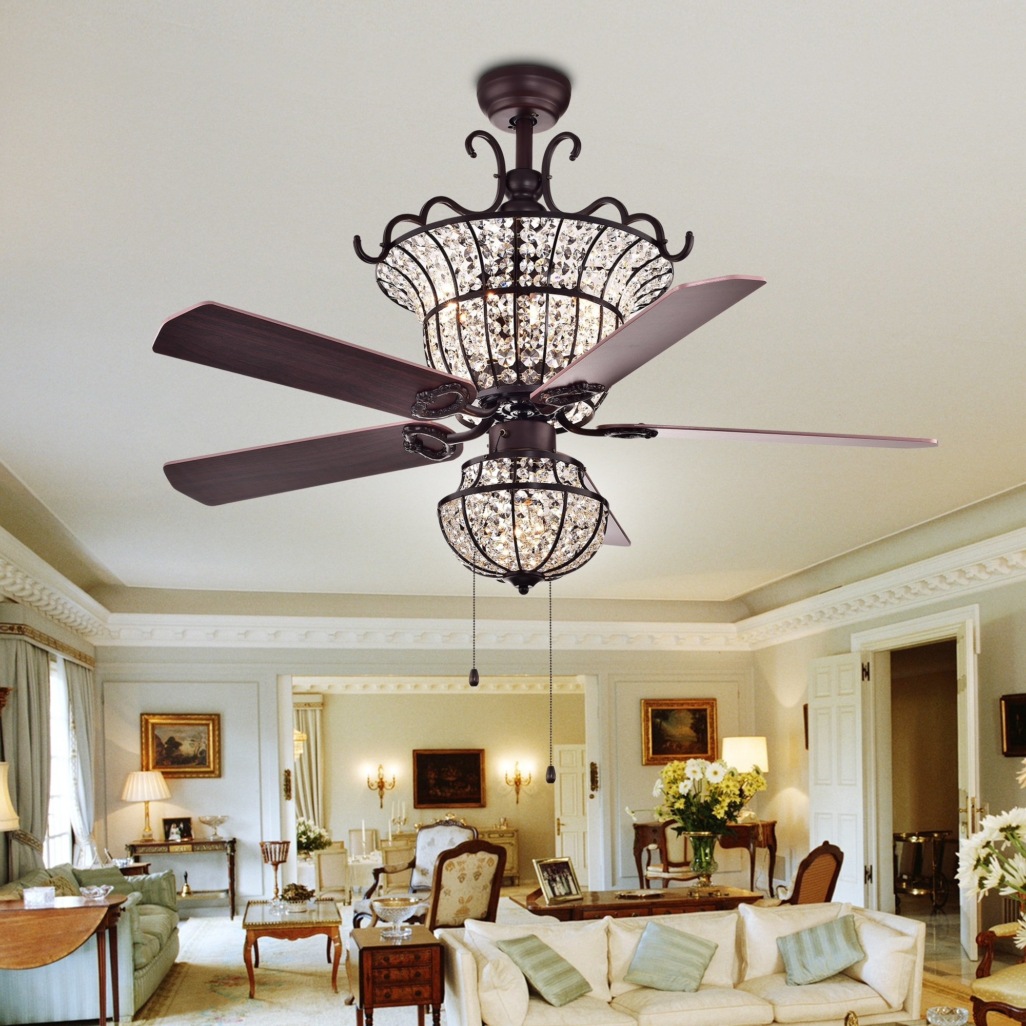Buy Ceiling Fans Online At Overstock (View 18 of 20)