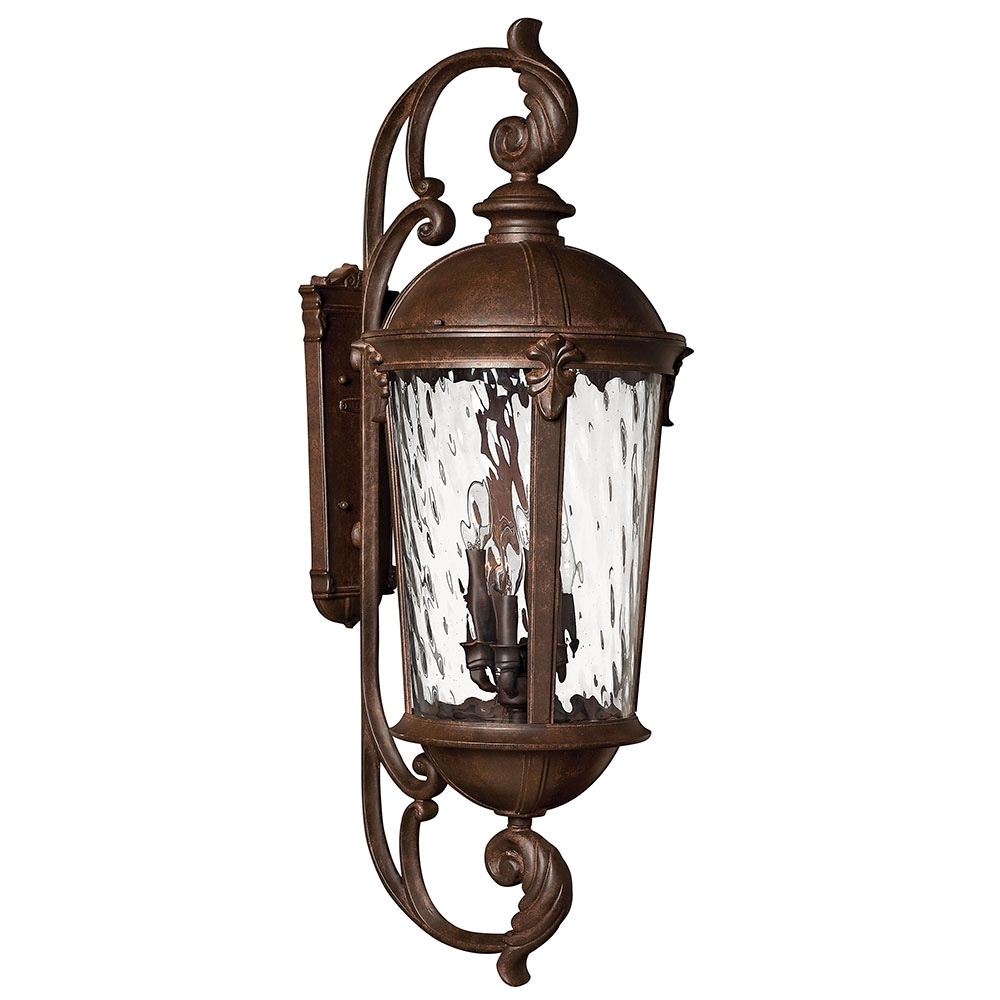 Buy The Windsor Extra Large Outdoor Wall Sconcemanufacturer Name Pertaining To Newest Large Outdoor Wall Lanterns (View 3 of 20)