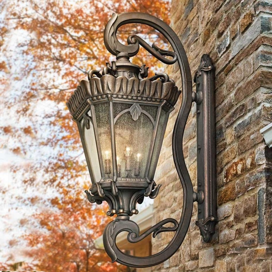 Buy Tournai Grand Outdoor Wall Lanternskichler — The Worm That Within Most Recent Xl Outdoor Lanterns (View 6 of 20)