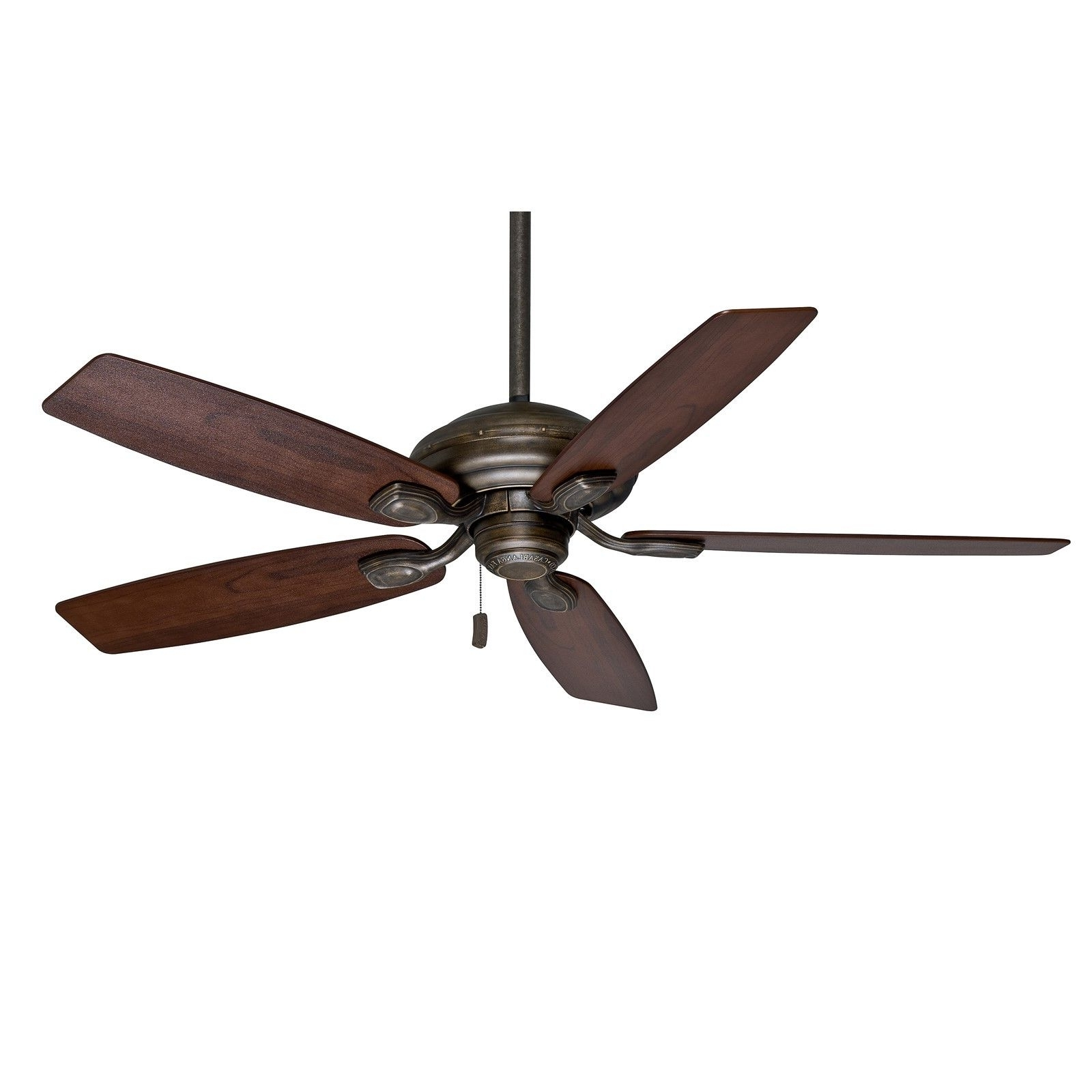 "Casablanca 52"" Aged Bronze Damp Rated Outdoor Ceiling Fan For Inside Popular Damp Rated Outdoor Ceiling Fans (View 18 of 20)"