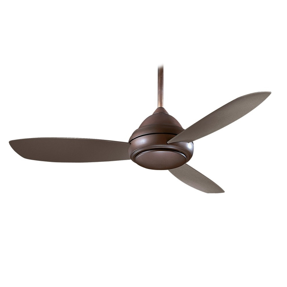 Ceiling: Awesome Rustic Outdoor Ceiling Fans Rustic Ceiling Fans Inside Widely Used Brown Outdoor Ceiling Fan With Light (View 9 of 20)