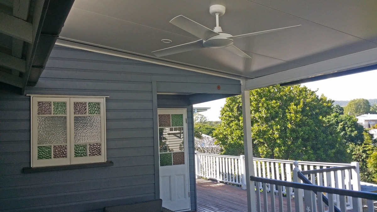 Ceiling Fans Installations – Brisbane Electrician : Birdman Electrical With Regard To Widely Used Outdoor Ceiling Fans For Decks (View 1 of 20)