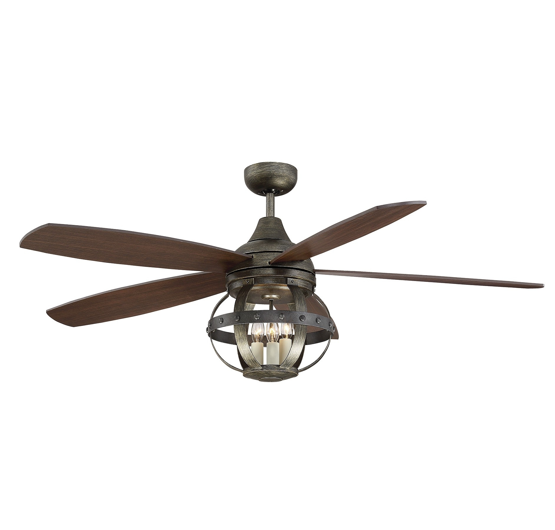 Ceiling Fanssavoy House Throughout 2019 24 Inch Outdoor Ceiling Fans With Light (View 6 of 20)