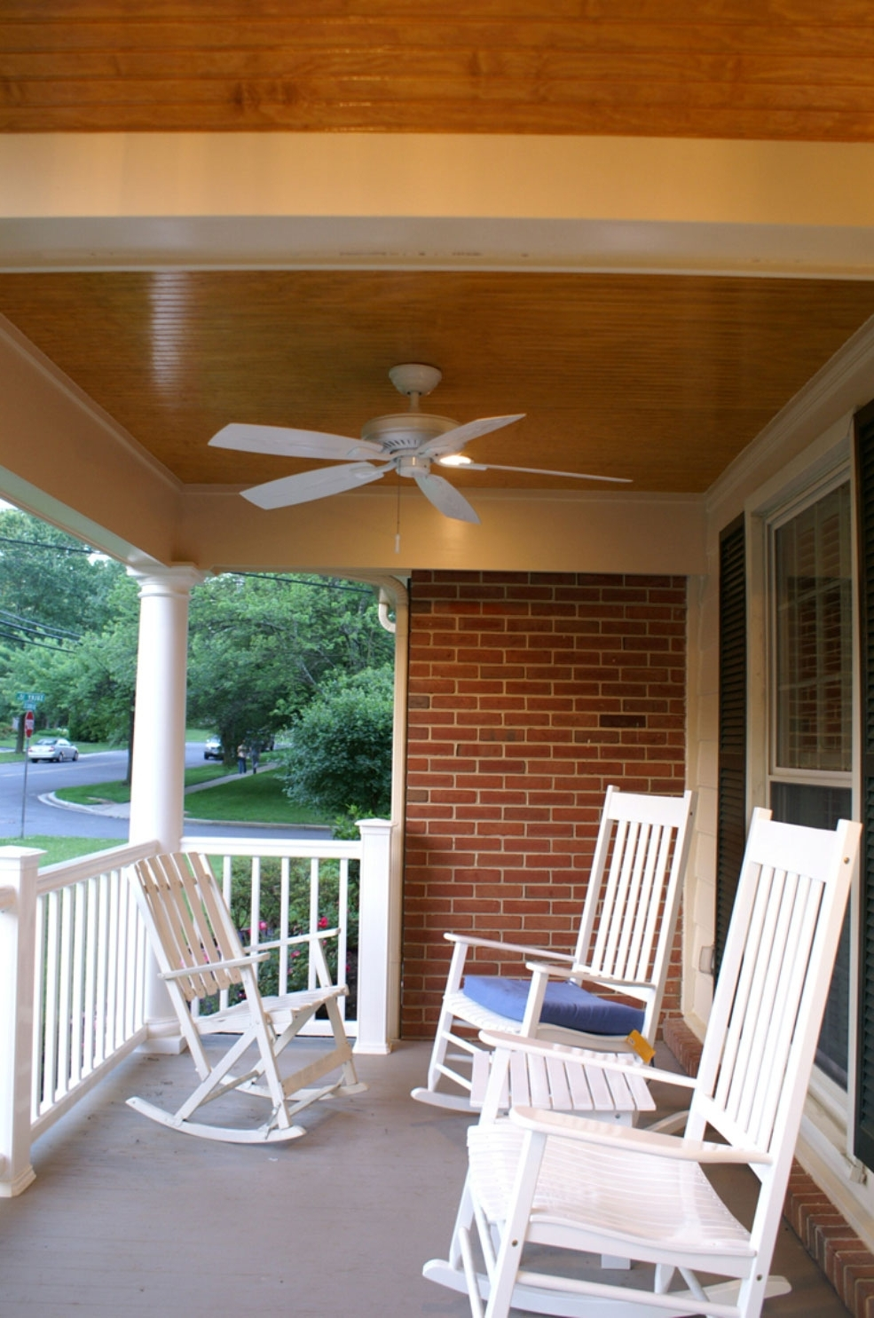 Ceiling: Glamorous Outdoor Ceiling Fans Without Lights Lowes Ceiling Intended For Most Current Outdoor Ceiling Fans For Porches (View 8 of 20)