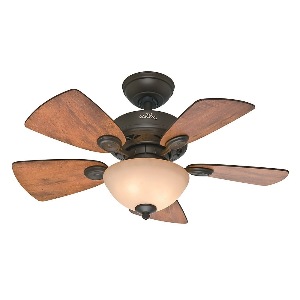 Ceiling: Outstanding Small Outdoor Ceiling Fans Home Depot Outdoor Within Fashionable Brown Outdoor Ceiling Fan With Light (View 10 of 20)
