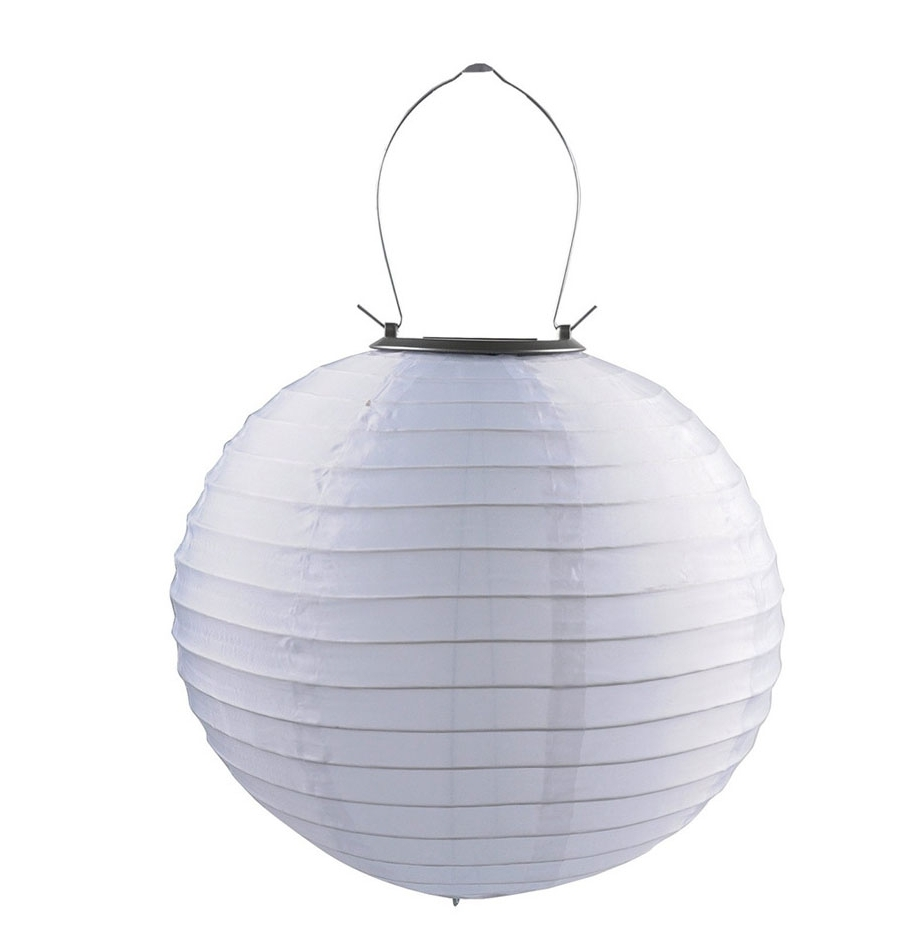 Cheap 12 Inch White Waterproof Outdoor Solar Powered Garden Chinese Within Newest Waterproof Outdoor Lanterns (View 2 of 20)