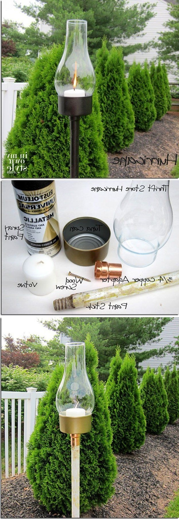 Cheap Diy Outdoor Lantern Lightsdiy Ready At Http://diyready With Most Up To Date Inexpensive Outdoor Lanterns (View 3 of 20)