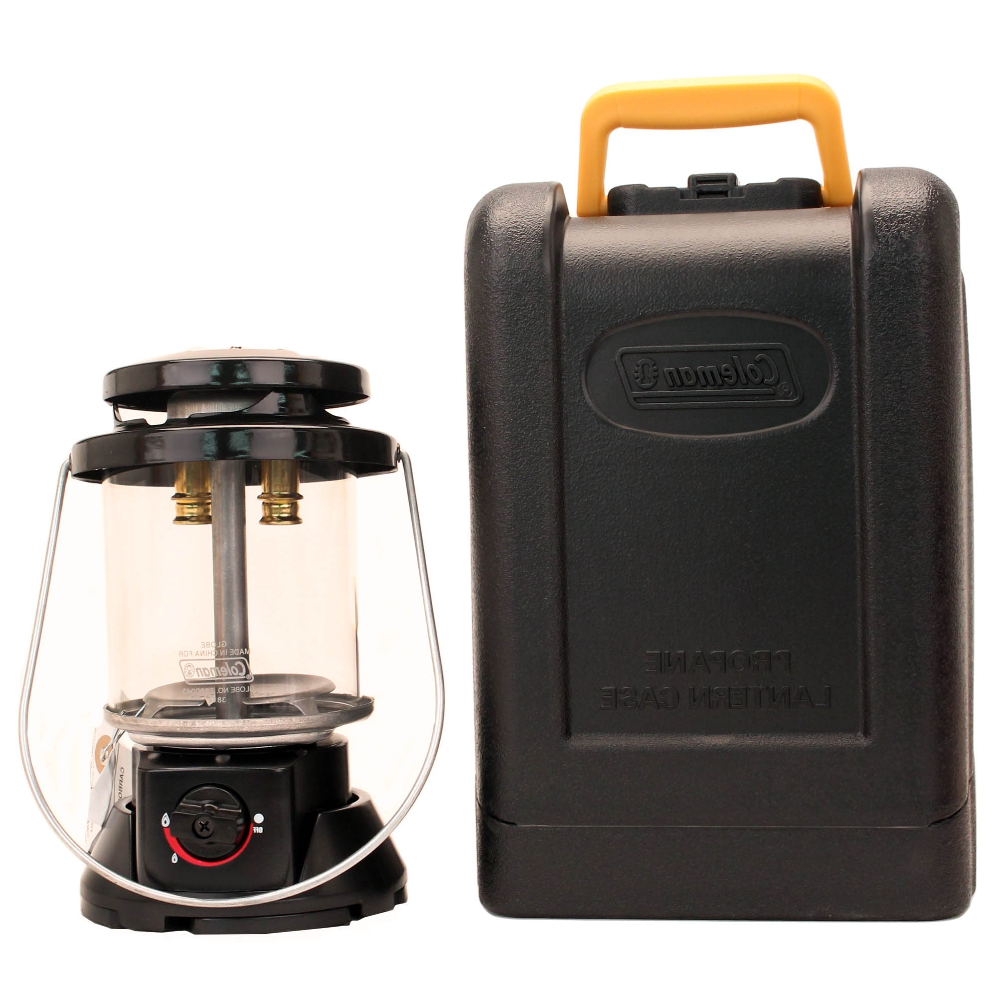 Coleman Deluxe Propane Outdoor Camping Lantern With Hard Carry Intended For Newest Outdoor Propane Lanterns (View 4 of 20)