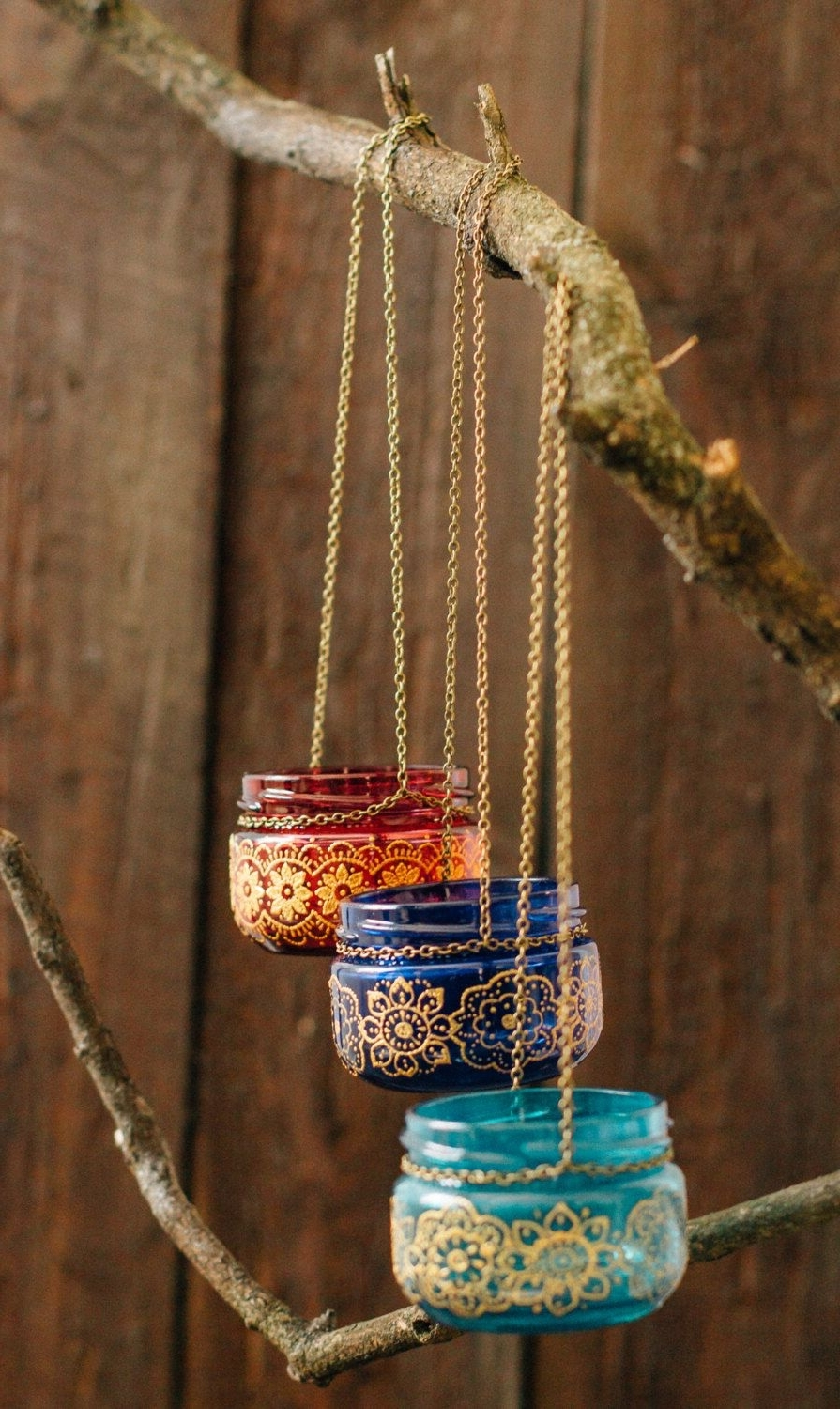 Colorful Outdoor Lanterns Regarding Most Up To Date Bohemian Wedding Decor, Moroccan Outdoor Lantern, Hanging Jar Candle (View 4 of 20)