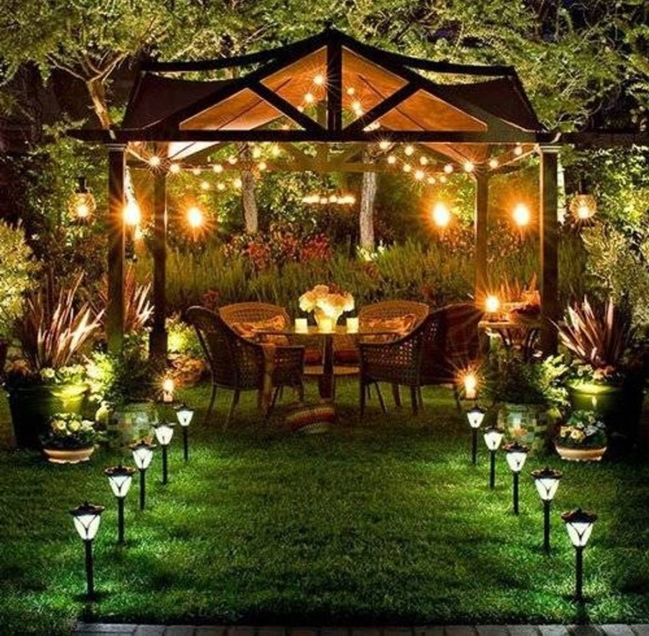 Compelling Patio Umbrella Lights Also Small Candle Lantern Patio With 2018 Outdoor Lawn Lanterns (View 18 of 20)