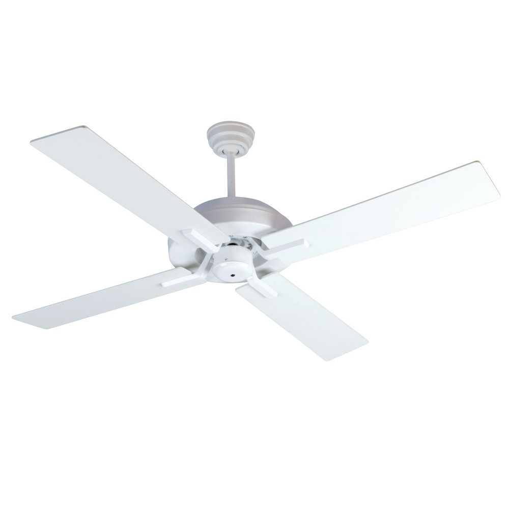 Craftmade Outdoor Ceiling Fans Craftmade In Newest South Beach Ceiling Fancraftmade Fans Sb52W4 – 52 Inch Wet Rated (View 3 of 20)