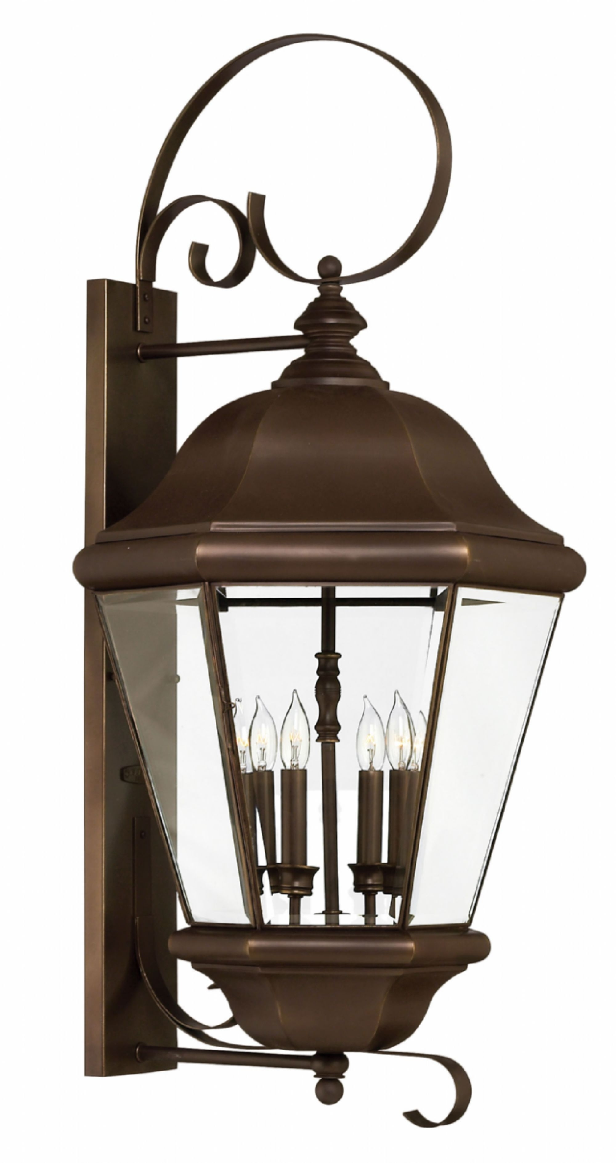 Current Copper Bronze Clifton Park > Exterior Wall Mount Intended For Copper Outdoor Lanterns (View 14 of 20)