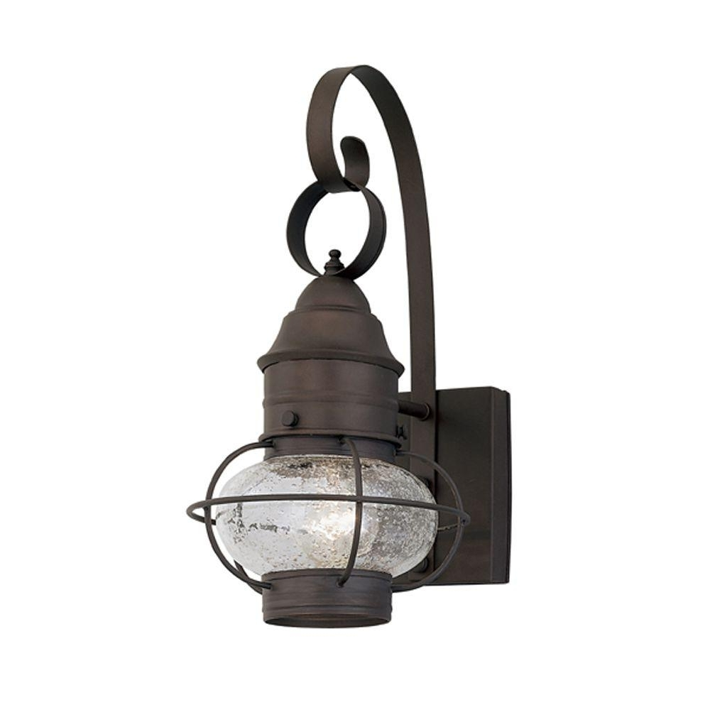 Current Designers Fountain Cork Collection Rustique Outdoor Wall Mount Within Outdoor Lighting Onion Lanterns (View 1 of 20)