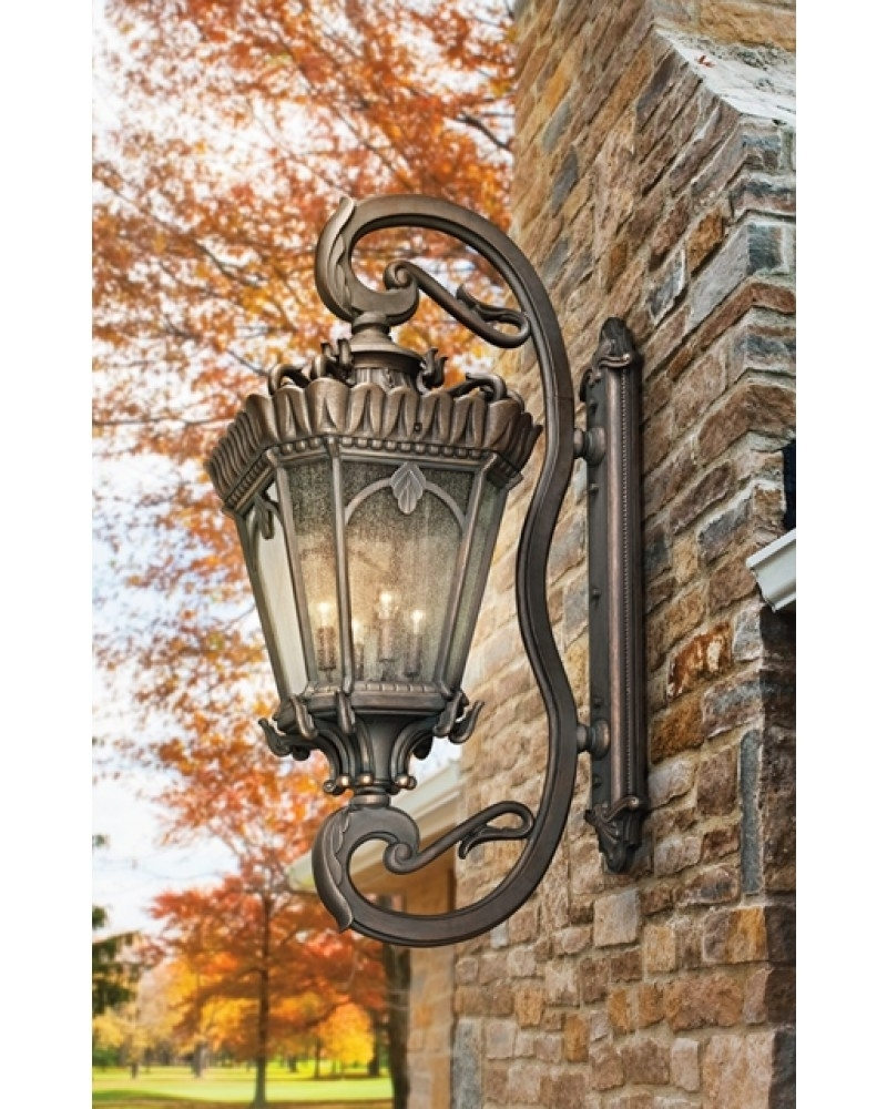 Current Elstead Lighting Kichler Tournai 4 Light Outdoor Grand Extra Large For Large Outdoor Lanterns (View 19 of 20)