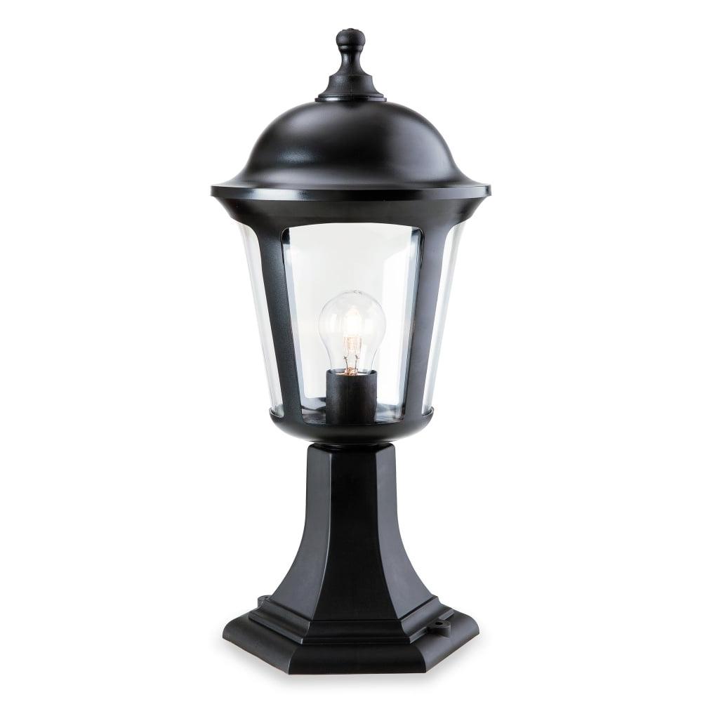 Current Firstlight Boston Single Light Outdoor Pillar Light In Black Finish Intended For Outdoor Pillar Lanterns (View 5 of 20)