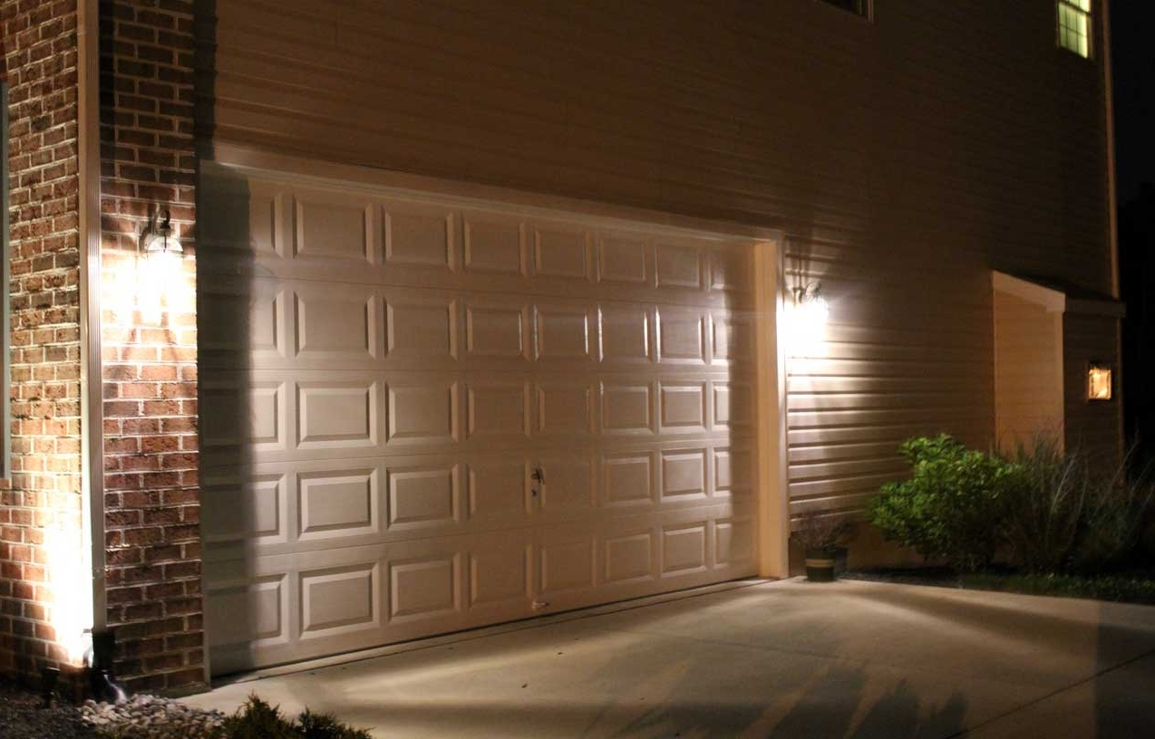 Current How To Install New Outdoor Lighting Flood Lights Video Hanging On Regarding Outdoor Lanterns For Garage (View 4 of 20)