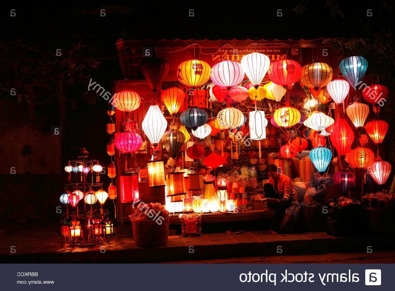 Current Lantern Stall Stock Photos & Lantern Stall Stock Images – Alamy Pertaining To Outdoor Vietnamese Lanterns (View 3 of 20)