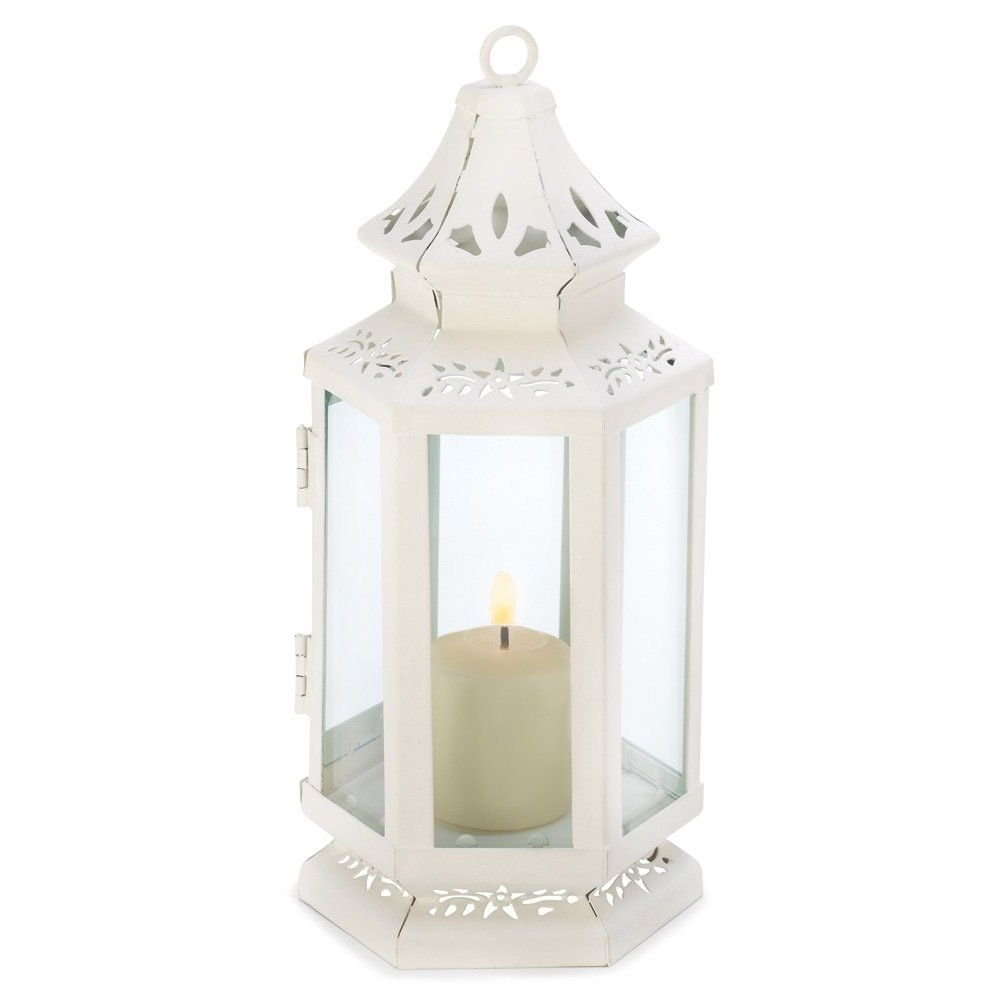 Current Outdoor Cast Iron Lanterns Inside White Lanterns Candle, Rustic Antique Outdoor Victorian Candle (View 14 of 20)