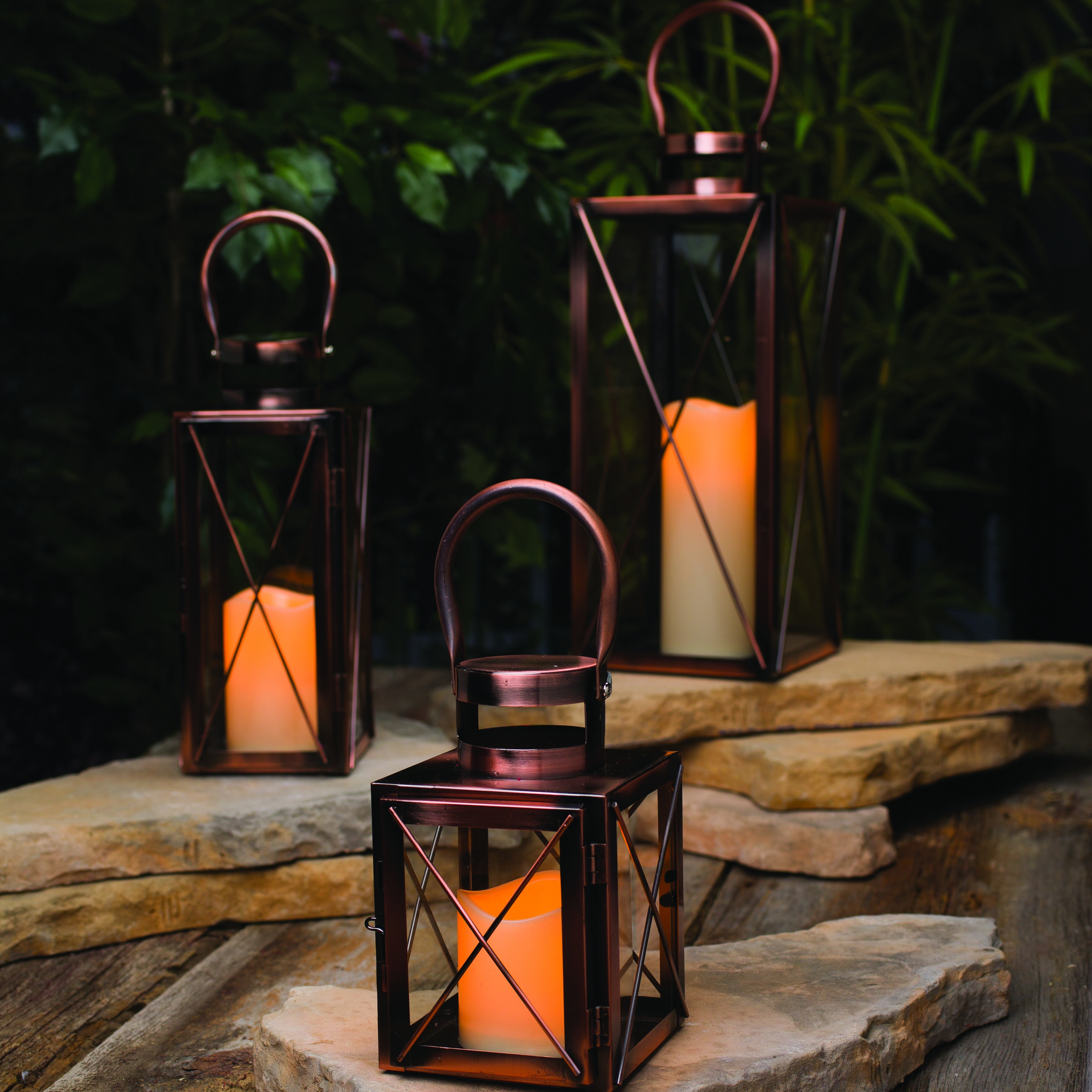 Current Outdoor Electric Candle Lighting Bamboo Lanterns For A Pool Party Intended For Outdoor Bamboo Lanterns (Gallery 17 of 20)