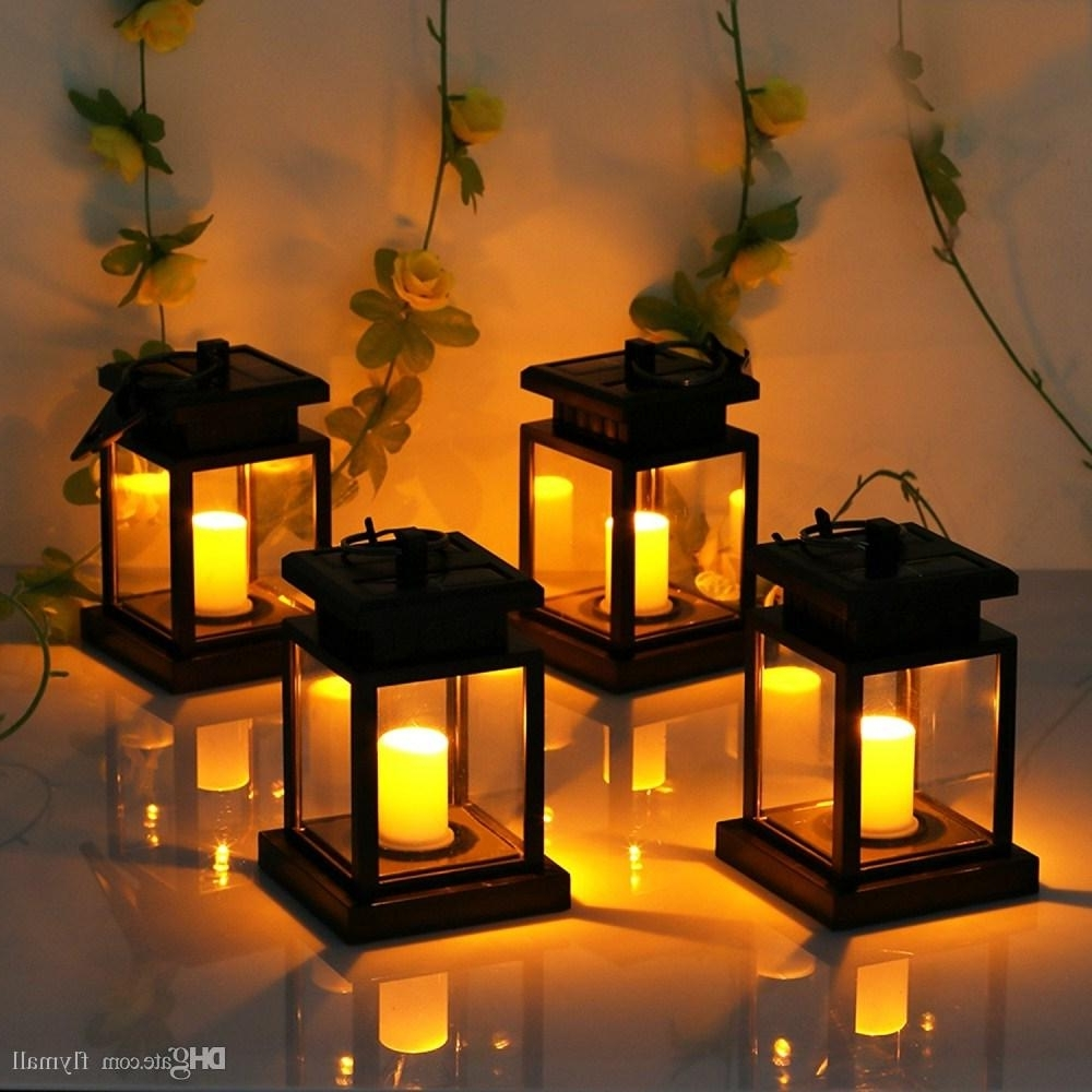 Current Outdoor Hanging Lanterns For Patio Inside 2018 6 Pack Solar Lights Outdoor Hanging Solar Lantern Solar Garden (View 16 of 20)