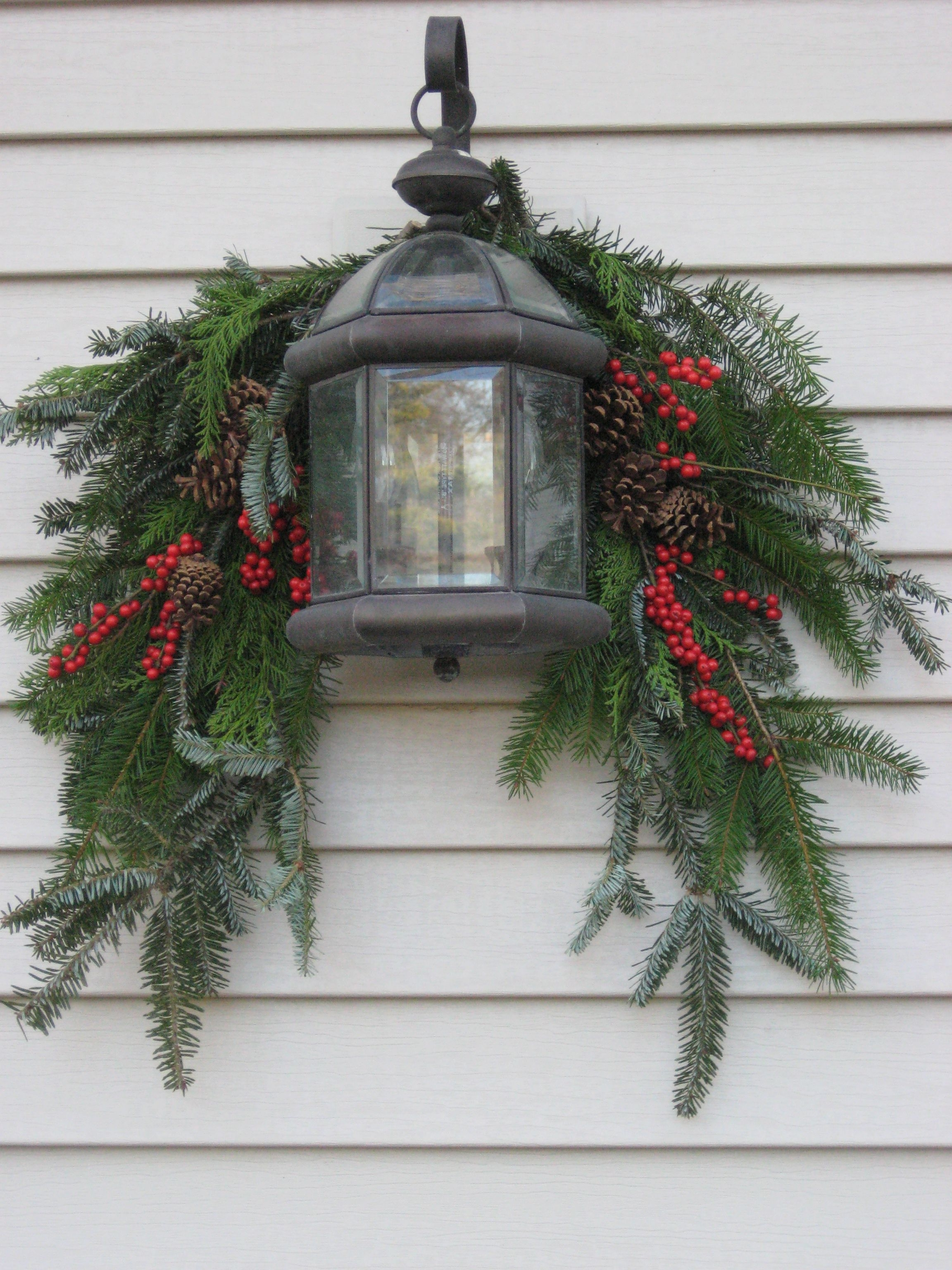 Current Outdoor Holiday Lanterns Pertaining To A Guide To Beautiful (and Not Tacky) Outdoor Holiday Decor In  (View 1 of 20)