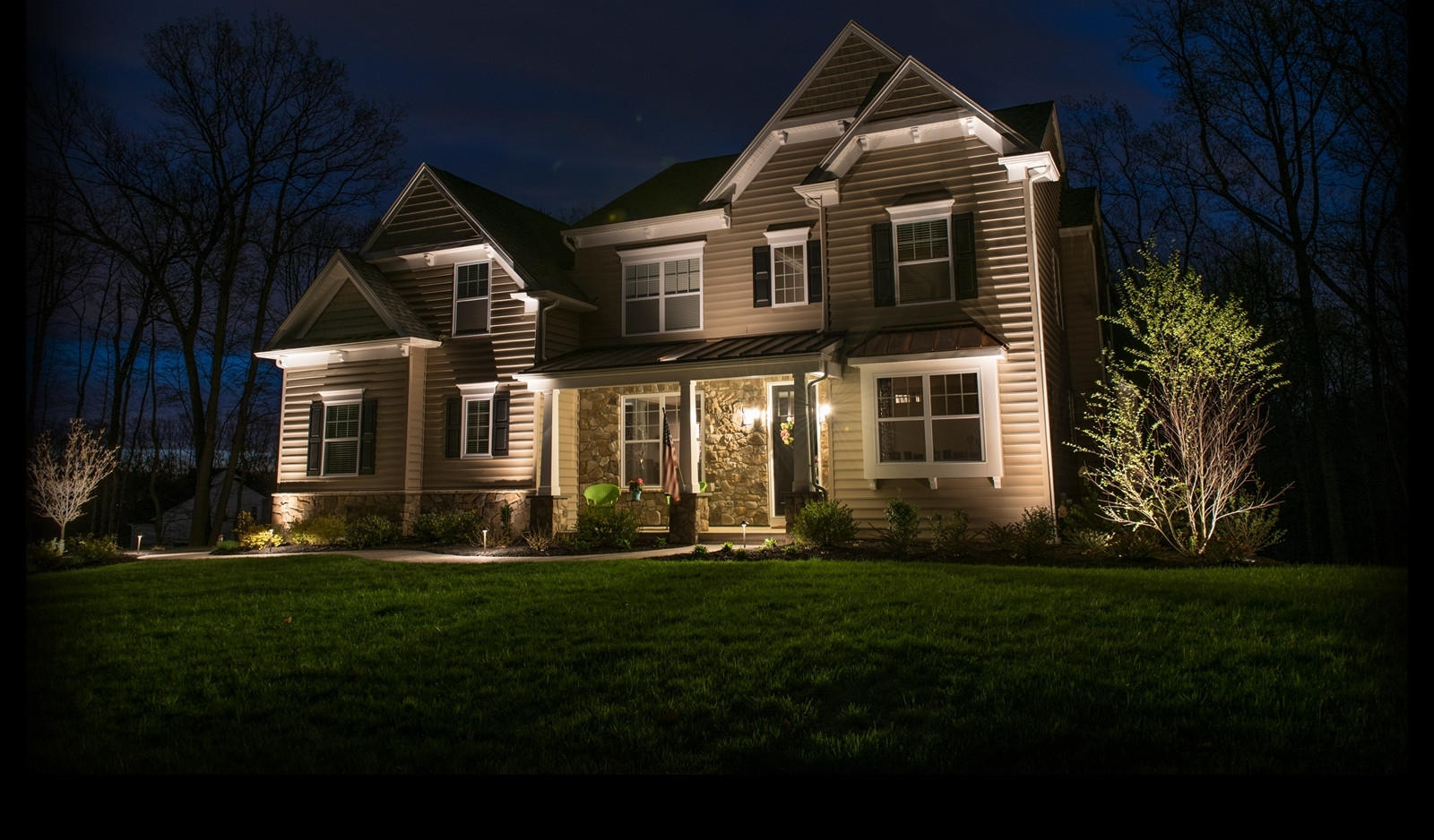 Current Outdoor House Lanterns With Ideas For Hanging Lights Outside Front And Backyard Landscaping (View 9 of 20)